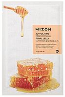 Тканевая маска с экстрактом маточного молочко MizonJoyful Time Essence Mask Royal Jelly Nutrition&Skin Health