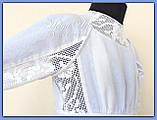 """Святкова сукня з натуральних тканин """"Блакитні мрії"""" для дівчинки НА ЗАМОВЛЕННЯ., фото 9"""
