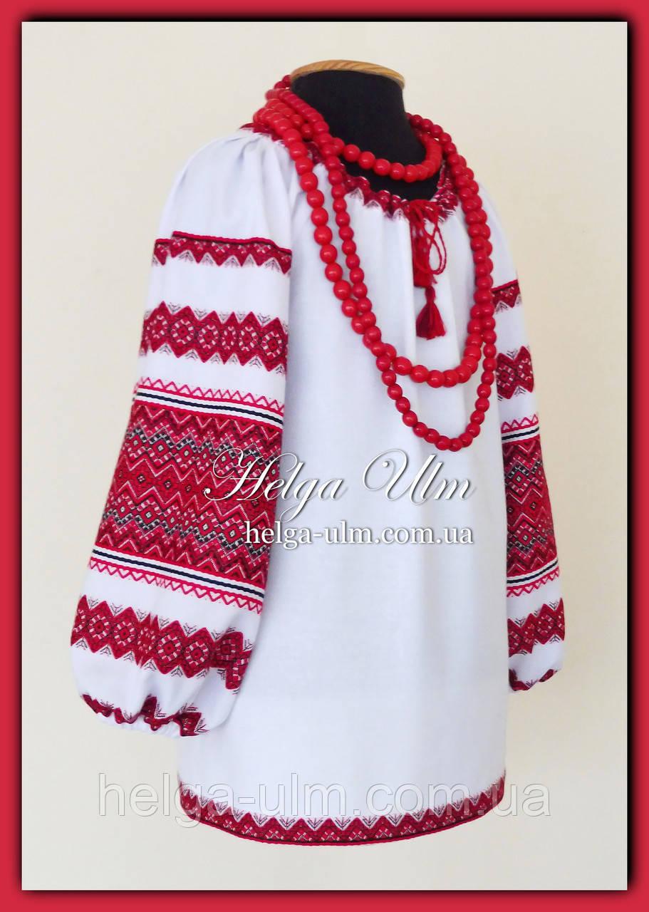 """Дитяча туніка-блузка с вишивкою """"Намисто"""" на замовлення, фото 1"""