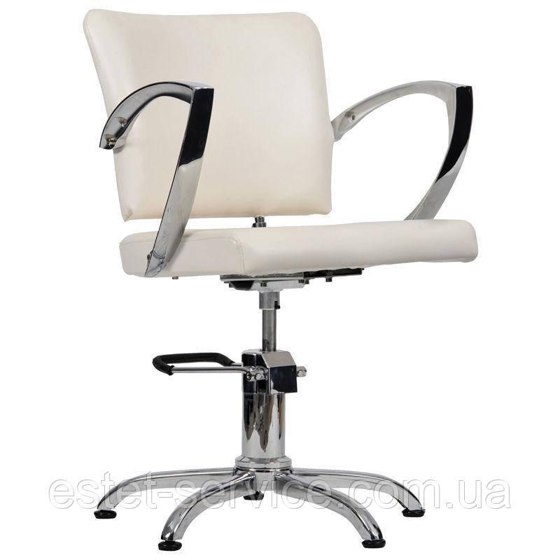 Парикмахерское кресло Palermo бежевое