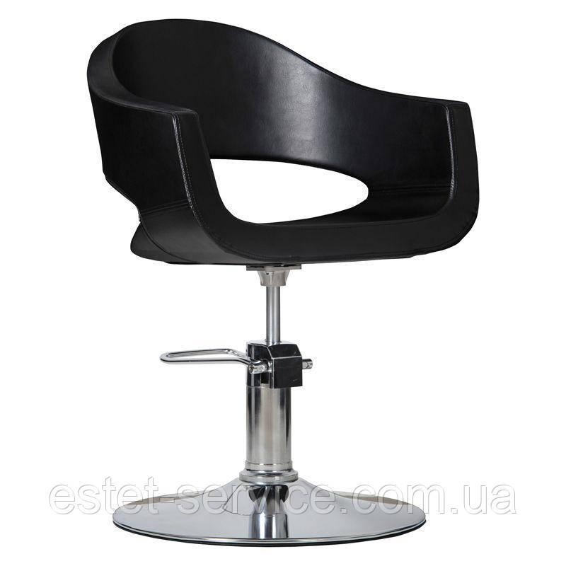 Парикмахерское кресло Prato черное