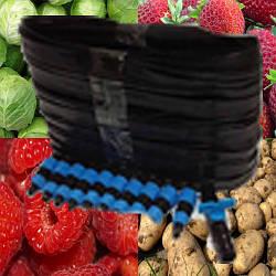 Набор для полива Урожай -100, капельный полив для большого урожая