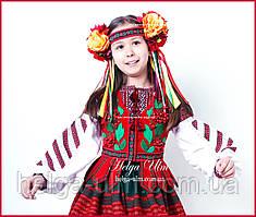 """Український національний стилізований костюм """"Софія"""" для дівчинки"""