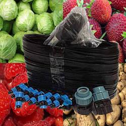 Капельный полив-набор Урожай 100 + система капельного орошение на одну сотку