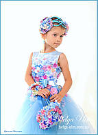 """Святкова пишна сукня """"Вальс квітів"""" - 104 р. На замовлення."""