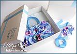 """Подарункова коробка для ексклюзивної сумочки """"Вальс квітів"""", фото 4"""