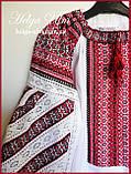 Дитяча туніка вишита, блуза з бавовняним мереживом на замовлення - 104 р., фото 7