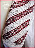 Дитяча туніка вишита, блуза з бавовняним мереживом на замовлення - 104 р., фото 8
