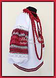 """Блуза-туніка з вишитого полотна """"Грушка"""" - 140р., фото 6"""