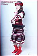 """Український національний костюм """"Вечорниці"""" для дівчинки"""