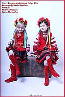 Чоботи шкіряні червоні високі - ПРОКАТ у Львові, фото 1
