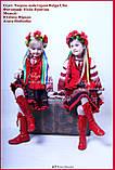 Чобітки шкіряні червоні високі - ПРОКАТ у Львові, фото 3