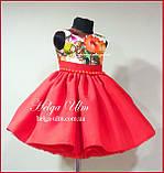 """Святкова сукня для дівчинки """"Горобинка"""", 98 р., фото 3"""