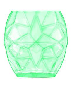 Стакан Prezioso, для напитков, зеленый, 400 мл, упаковка 4 шт