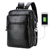 Городской Рюкзак для Ноутбука 17л Polo Vicuna V5513 Черный