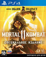 Игра Mortal Kombat 11 Special Edition (PS4, русские субтитры)