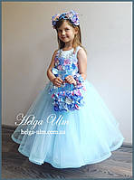 """Святкова пишна сукня """"Вальс квітів"""" - 110 р. На замовлення."""