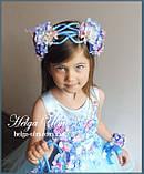 """Святкова пишна сукня """"Вальс квітів"""" - 116 р. На замовлення., фото 6"""