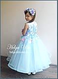 """Святкова пишна сукня """"Вальс квітів"""" - 116 р. На замовлення., фото 7"""