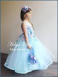 """Святкова пишна сукня """"Вальс квітів"""" - 116 р. На замовлення., фото 2"""