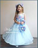 """Святкова пишна сукня """"Вальс квітів"""" - 116 р. На замовлення., фото 8"""