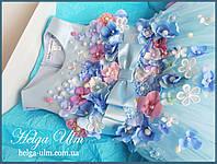 """Святкова пишна сукня """"Вальс квітів"""" - 116 р. На замовлення."""
