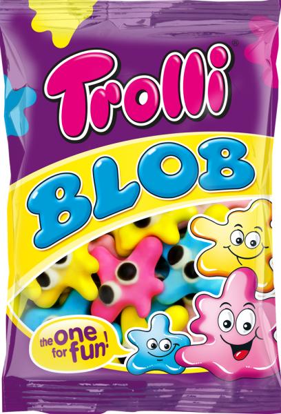 Цукерки жувальні Trolli 100г Клякса