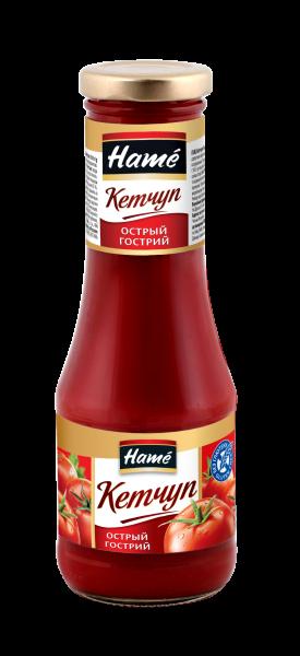 Кетчуп HAME 310г Гострий