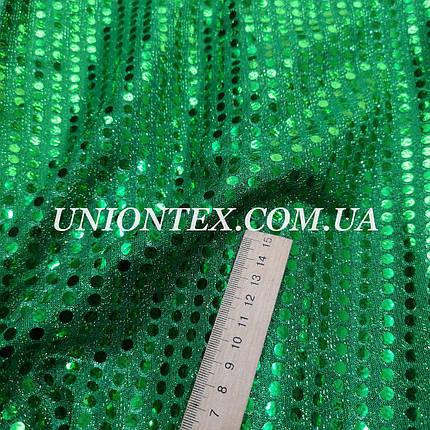 Ткань копейка зеленая, фото 2