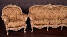 Класичний комплект меблів Міла (3+1+1), фото 2