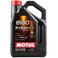 Моторное масло MOTUL (Мотюль) 8100 X-clean EFE 5W-30 5 л.