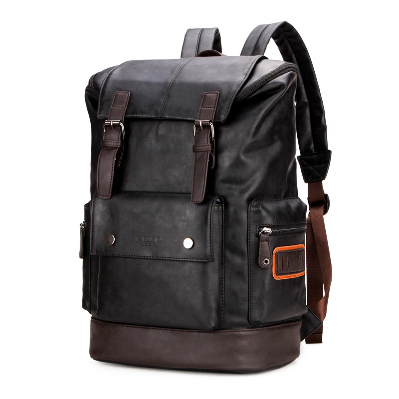 Мужской Рюкзак Городской Polo Vicuna (V5504) Черный