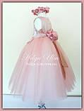 """Пишна бальна сукня для дівчинки """"Метелик"""" - РУЧНА РОБОТА! 116 р., фото 8"""