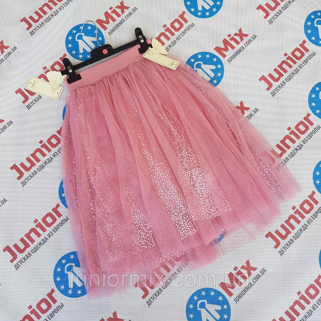 Детские шифоновые юбки для девочек  оптом  Feshion