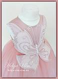"""Пишна бальна сукня для дівчинки """"Метелик"""" - РУЧНА РОБОТА! 134 р., фото 2"""