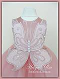 """Пишна бальна сукня для дівчинки """"Метелик"""" - РУЧНА РОБОТА! 134 р., фото 3"""