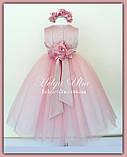 """Пишна бальна сукня для дівчинки """"Метелик"""" - РУЧНА РОБОТА! 134 р., фото 4"""