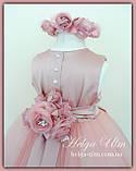 """Пишна бальна сукня для дівчинки """"Метелик"""" - РУЧНА РОБОТА! 134 р., фото 5"""
