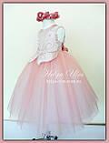 """Пишна бальна сукня для дівчинки """"Метелик"""" - РУЧНА РОБОТА! 134 р., фото 7"""