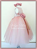"""Пишна бальна сукня для дівчинки """"Метелик"""" - РУЧНА РОБОТА! 134 р., фото 8"""