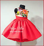 """Святкова сукня для дівчинки """"Горобинка"""", 104 р., фото 2"""