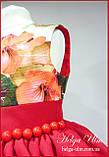 """Святкова сукня для дівчинки """"Горобинка"""", 104 р., фото 6"""