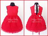 """Святкова сукня для дівчинки """"Горобинка"""", 104 р., фото 10"""