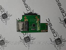 Card Reader та SATA роз'єми для ноутбука Asus K40, K40I_CARDREADER, 60-nvjcr1000-c03.
