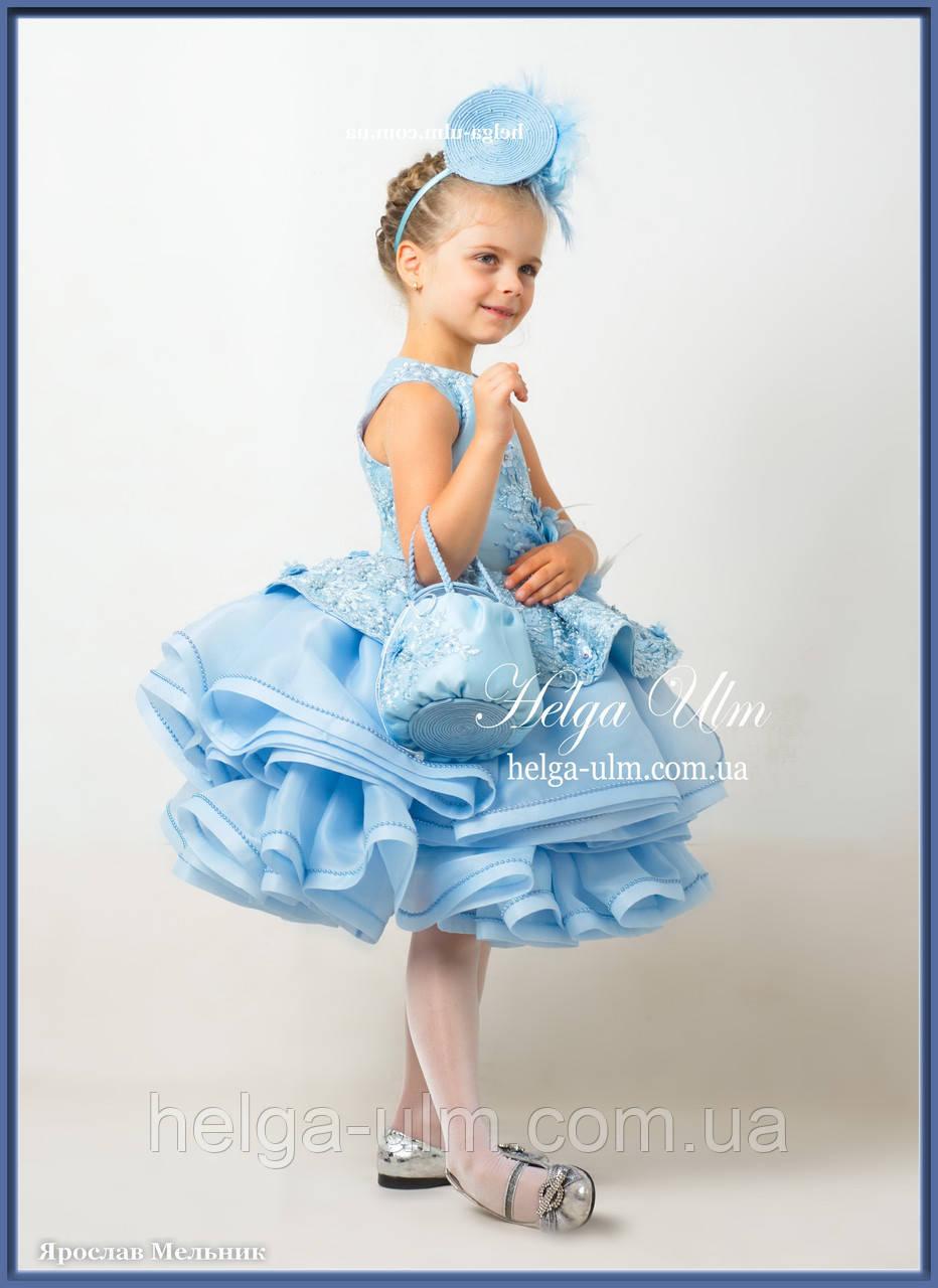 """Святкова сукня """"Адель"""" для дівчинки на замовлення 104"""