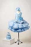 """Святкова сукня """"Адель"""" для дівчинки на замовлення 104, фото 2"""