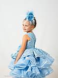 """Святкова сукня """"Адель"""" для дівчинки на замовлення 104, фото 4"""