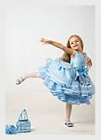 """Святкова сукня """"Адель"""" для дівчинки на замовлення 104, фото 5"""