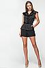 """Черная женская блузка """"Алли Блек"""", фото 2"""