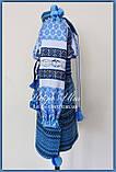 """Український костюм (стрій) """"Анна-Марія"""" (блак.) - 122 р., фото 5"""